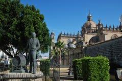 Domkyrka av San Salvador Arkivfoton