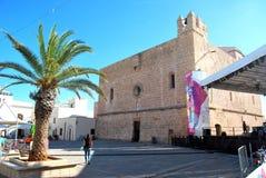 Domkyrka av San Vito Lo Capo - Sicilien (Italien) Royaltyfri Fotografi