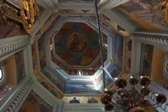 Domkyrka av Sankt basilika, Moskva, rysk federal stad, rysk federation, Ryssland Royaltyfria Bilder