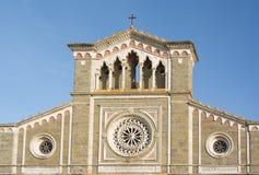 Domkyrka av Santa Margherita Arkivfoto