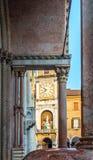 Domkyrka av Santa Maria Assunta e San Geminiano av Modena, i Emilia-Romagna italy Royaltyfria Bilder