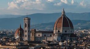 Domkyrka av Santa Maria del Fiore, Florence Fotografering för Bildbyråer