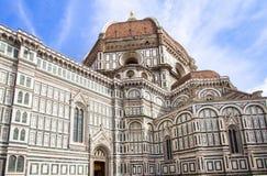 Domkyrka av Santa Maria del Fiore, Florence, Italien Arkivbilder