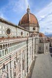 Domkyrka av Santa Maria del Fiore, Florence, Italien Arkivfoton