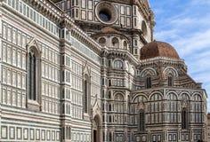 Domkyrka av Santa Maria del Fiore, Florence, Italien Arkivfoto