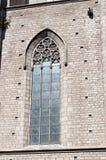 Domkyrka av Santa Maria del Mar Arkivbilder