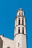 Domkyrka av Santa Maria del Mar Royaltyfria Bilder