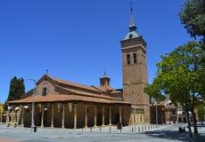 Domkyrka av Santa Maria i Guadalajara Spanien Arkivbild