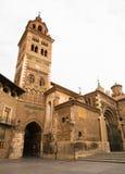 Domkyrka av Santa Maria på Teruel fotografering för bildbyråer