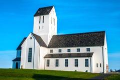 Domkyrka av Skalholt, Island Royaltyfri Bild