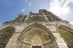 Domkyrka av Soissons Royaltyfri Fotografi