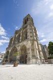 Domkyrka av Soissons Arkivfoto