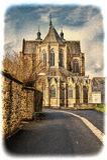 Domkyrka av St Hubert i Belgien Royaltyfri Bild