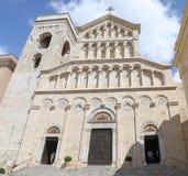 Domkyrka av St Maria Asunta och St Cecilia Arkivfoto
