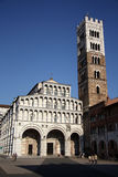 Domkyrka av St Martin i Lucca (Tuscany, Italien) Royaltyfri Foto