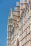 Domkyrka av St Mary av Palma Cathedral de Santa Maria de Palma de Mallorca arkivbild