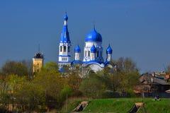 Domkyrka av St Paul i Gatchina petersburg russia st Arkivbild