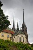 Domkyrka av St Peter och Paul i Brno Royaltyfri Foto