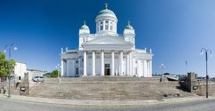 Domkyrka av St Peter och Paul i Helsingfors Arkivbild