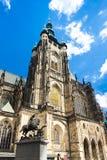 Domkyrka av St Vitus Royaltyfria Bilder