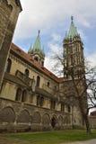 Domkyrka av Sts Peter och Paul Dom i Naumburg Royaltyfri Fotografi