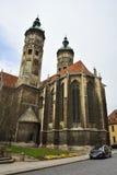 Domkyrka av Sts Peter och Paul Dom i Naumburg Arkivfoton