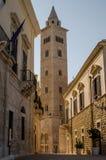 Domkyrka av Trani Puglia italy royaltyfri fotografi