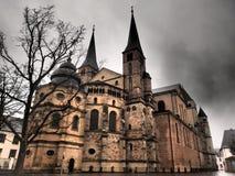 Domkyrka av trieren - Tyskland fotografering för bildbyråer