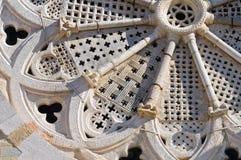 Domkyrka av Troia. Puglia. Italien. royaltyfri fotografi