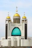 Domkyrka av uppståndelsen av Kristus Kiev Royaltyfri Bild
