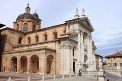 Domkyrka av Urbino Royaltyfri Fotografi