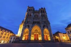 Domkyrka av vår dam av Amiens Royaltyfria Foton