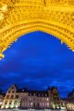Domkyrka av vår dam av Amiens Royaltyfri Foto