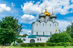 Domkyrka av vår dam av Smolensk Arkivbilder