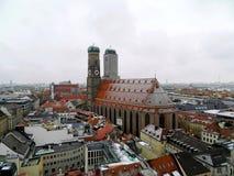 Domkyrka av vår kära dam, Munich Arkivbilder