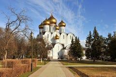 Domkyrka av Yaroslavl, Ryssland Arkivfoto