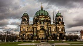 Domkyrka Berlin Arkivbilder
