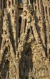 Domkyrka Cagrada Familia Arkivbild