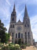 Domkyrka Chartres Arkivbild
