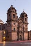 Domkyrka Cusco Peru Royaltyfria Foton