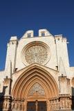 domkyrka de maria santa tarragona Arkivbild