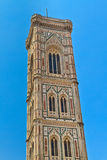domkyrka di duomo firenze florence torn Arkivbild