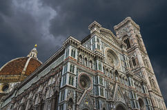 Domkyrka (duomo) av Florence - Tuscany (Italien) Arkivfoto