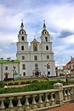 Domkyrka för helig ande i Minsk, Vitryssland arkivfoto