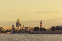 Domkyrka för ` s för St Petersburg St Isaac Royaltyfri Foto