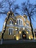 Domkyrka för ` s för St Volodymyr Arkivfoto
