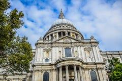 Domkyrka för Saint Paul ` s i London, England Royaltyfri Foto
