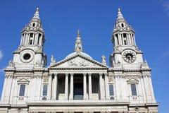 Domkyrka för Saint Paul ` s, London Fotografering för Bildbyråer