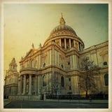 Domkyrka för Saint Paul ` s, London, England Arkivbild