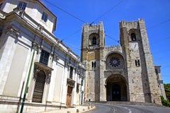 Domkyrka för Se de Lissabon, Lissabon, Portugal Arkivbild
